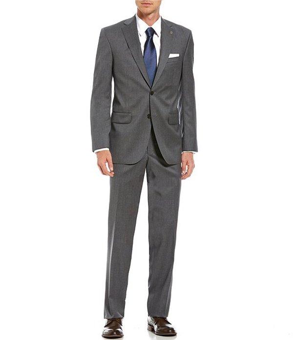 ダニエル クレミュ メンズ ジャケット・ブルゾン アウター Modern Fit Solid Wool Suit Grey