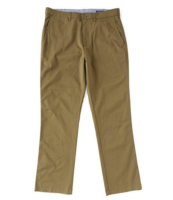 ダニエル クレミュ メンズ カジュアルパンツ ボトムス Madison Flat-Front Twill Chino Pants Olive