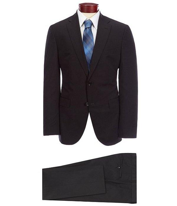 ヒューゴボス メンズ ジャケット・ブルゾン アウター BOSS Hugo Boss Phoenix/Madisen Solid Wool Suit Black