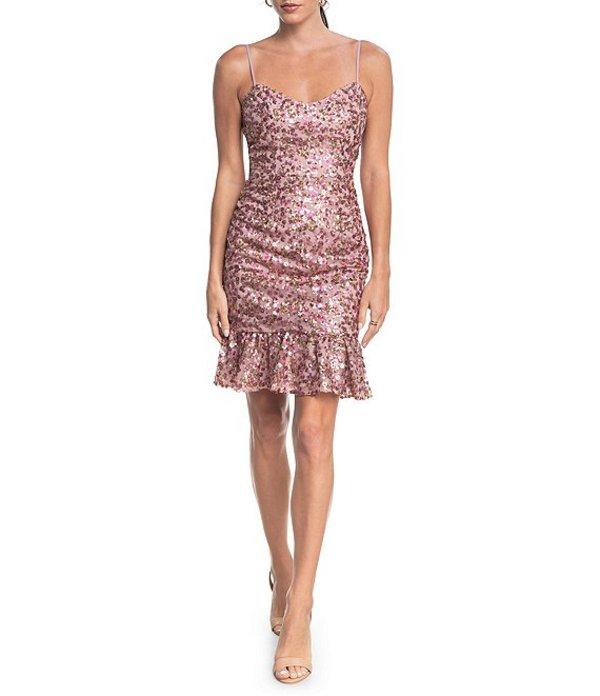 【正規品質保証】 ドレスザポプレーション Kaya レディース Sleeveless ワンピース トップス Kaya Sequin Sequin Sleeveless Sheath Dress Blush Multi, 引越資材プロショップ:8a94a1f9 --- promilahcn.com