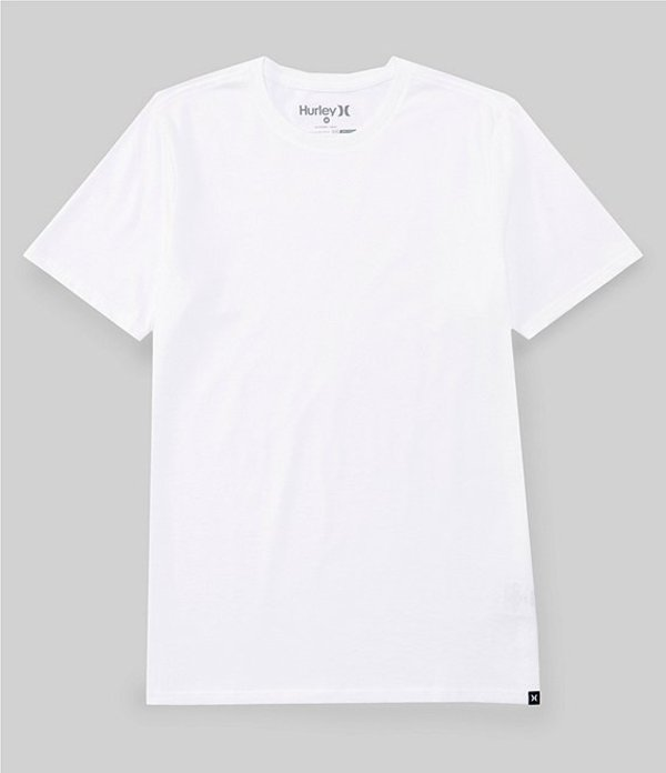 ハーレー メンズ シャツ トップス Staple Dri-FIT Premium Short-Sleeve T-Shirt White