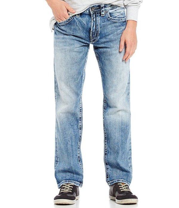 シルバー ジーンズ メンズ デニムパンツ ボトムス Eddie Relaxed Light Tapered-Fit Jeans Indigo