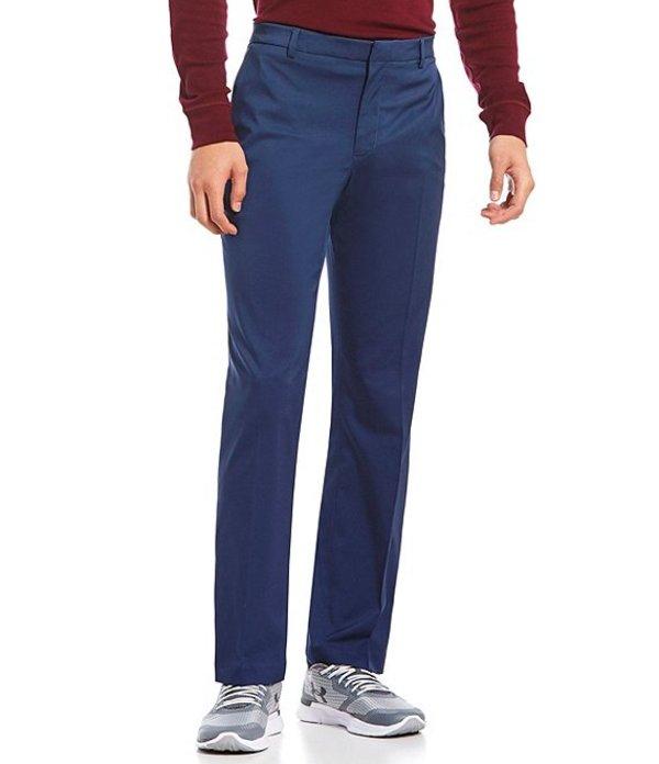 ペリーエリス メンズ カジュアルパンツ ボトムス Premium Performance Flat-Front Classic Fit Flex Waist Stretch Pants Navy