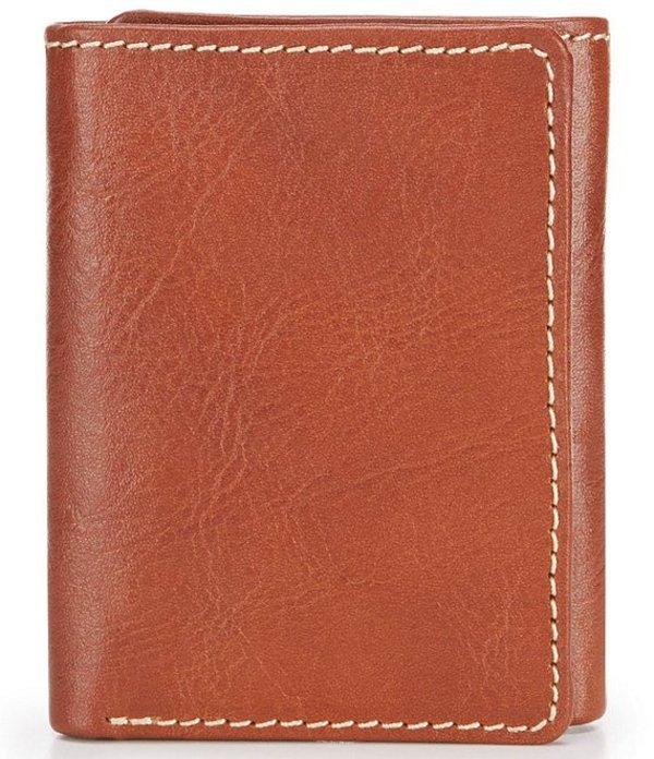 パトリシアナシュ メンズ 財布 アクセサリー Nash Heritage Trifold Wallet Tan