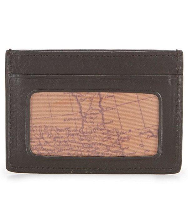 パトリシアナシュ メンズ 財布 アクセサリー Nash Heritage Slim Card Case With ID Black