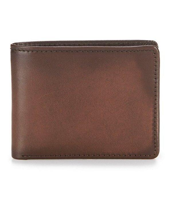 パトリシアナシュ メンズ 財布 アクセサリー Nash Venezia Double Billfold ID Wallet Rust