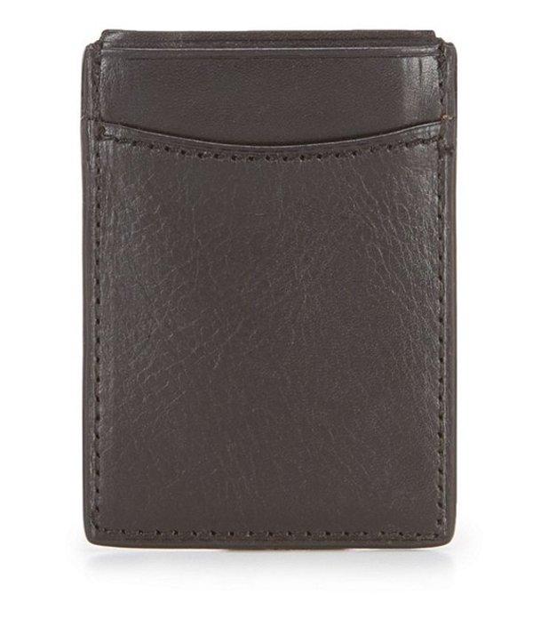パトリシアナシュ メンズ 財布 アクセサリー Nash Heritage Magnetic Money Clip Card Case Black