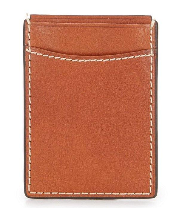 パトリシアナシュ メンズ 財布 アクセサリー Nash Heritage Magnetic Money Clip Card Case Tan