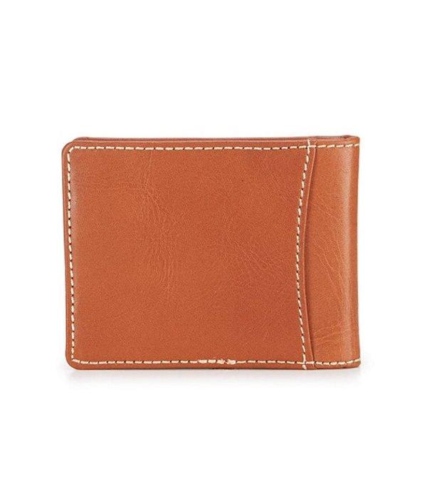 パトリシアナシュ メンズ 財布 アクセサリー Nash Heritage Billfold Wallet with Money Clip Tan
