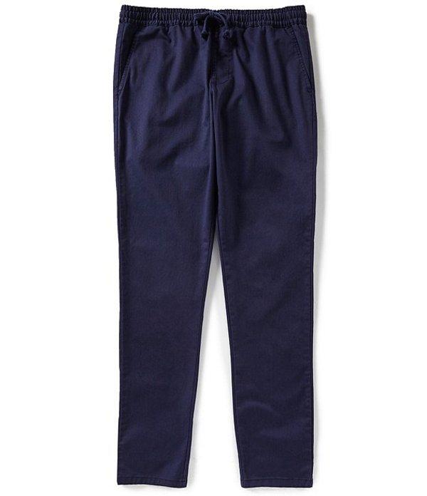 ルーカ メンズ カジュアルパンツ ボトムス A.T. Dayshift Elastic Wait Slim-Straight Fit Pants Shady Blue