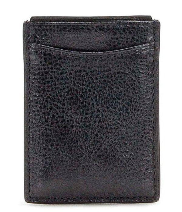 パトリシアナシュ メンズ 財布 アクセサリー Nash Firenze Magnetic Money Clip Card Case Black