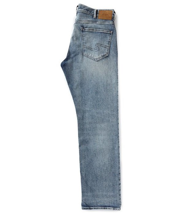 シルバー ジーンズ メンズ デニムパンツ ボトムス Grayson Relaxed Straight Leg Fit Jeans Indigo