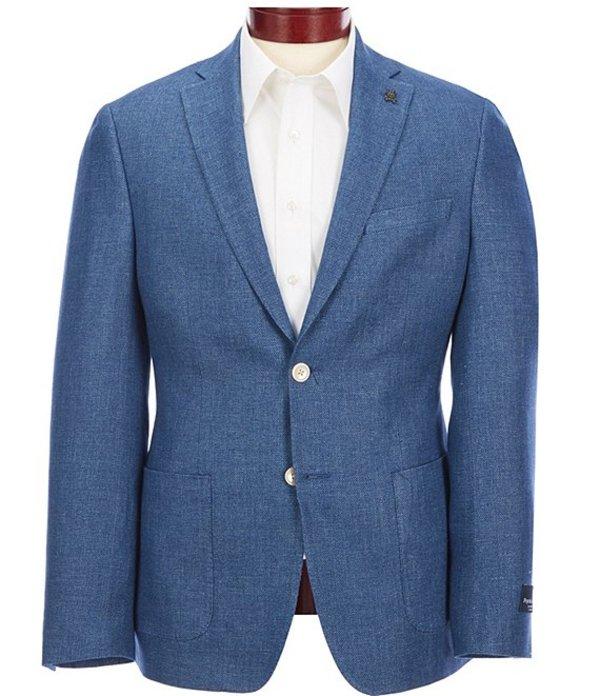サイコバニー メンズ ジャケット・ブルゾン アウター Slim Fit Solid Sportcoat Blue