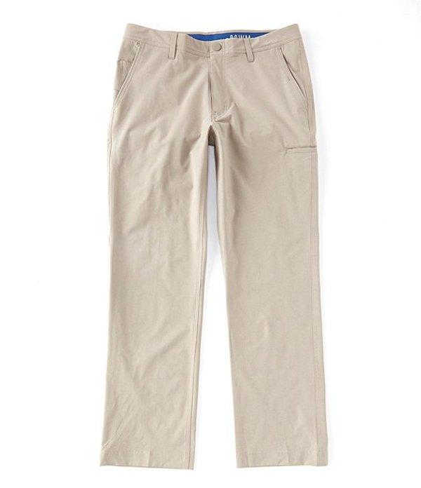 ラウン メンズ カジュアルパンツ ボトムス Tech Pocket Performance Flat-Front Pants Elephant Skin
