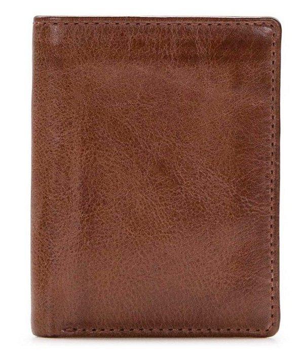 パトリシアナシュ メンズ 財布 アクセサリー Nash Venezia Trifold ID Leather Wallet Brown
