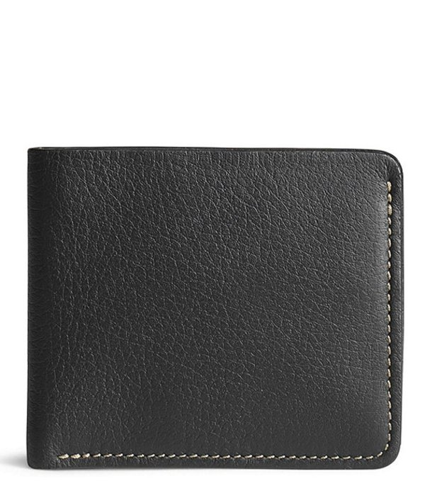 トラスク メンズ 財布 アクセサリー Men's Jackson Norwegian Elk Slim Fold Wallet Black