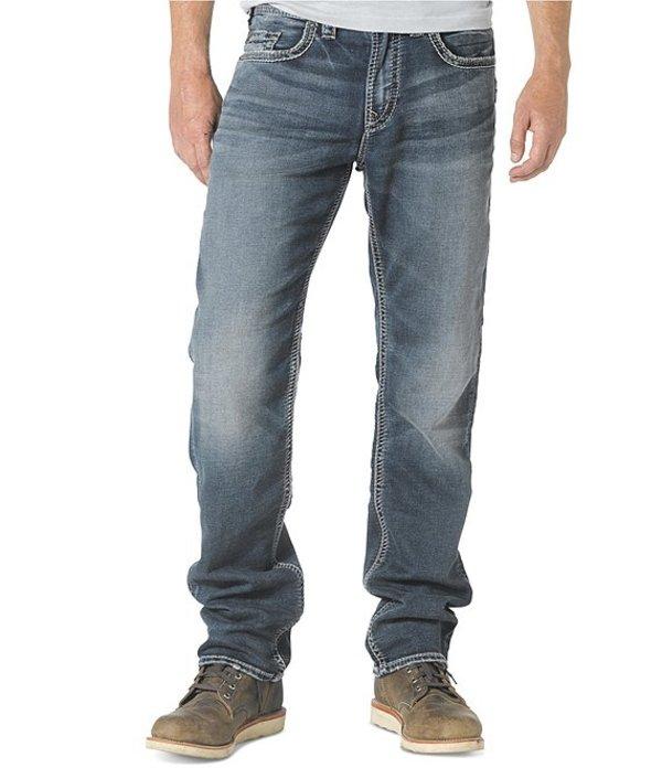 シルバー ジーンズ メンズ デニムパンツ ボトムス Big & Tall Eddie Athletic-Fit Denim Jeans Indigo