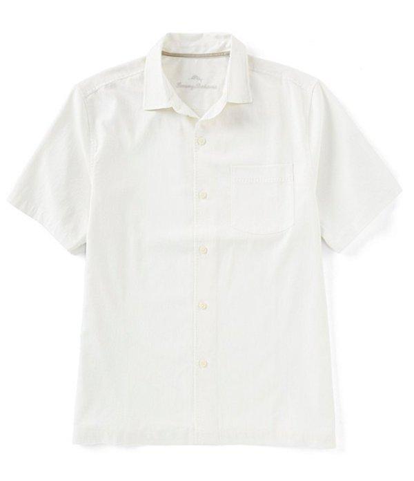 海外最新 トッミーバハマ メンズ シャツ Catalina トップス Catalina Stretch Twill Woven メンズ Short-Sleeve Woven Shirt White:ReVida 店, 花のはんこ屋 大谷印舗:5a89387a --- nagari.or.id