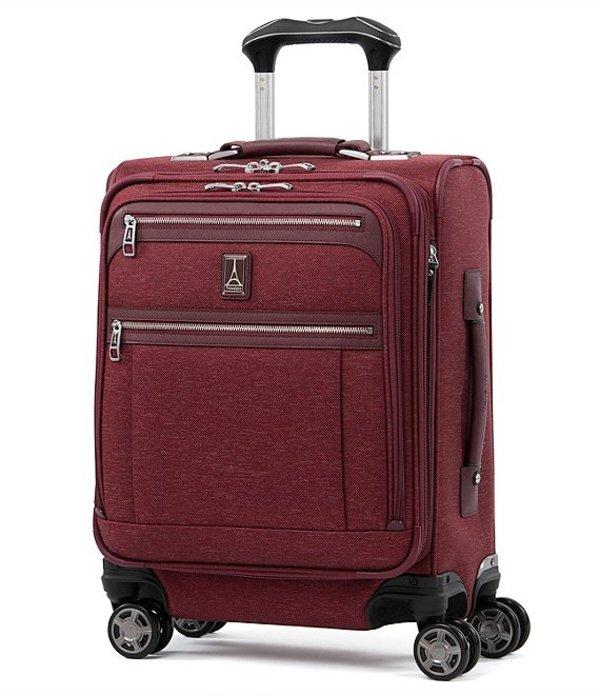 トラベルプロ メンズ スーツケース バッグ TravelPro Platinum Elite International Expandable Carry-On Spinner Bordeaux