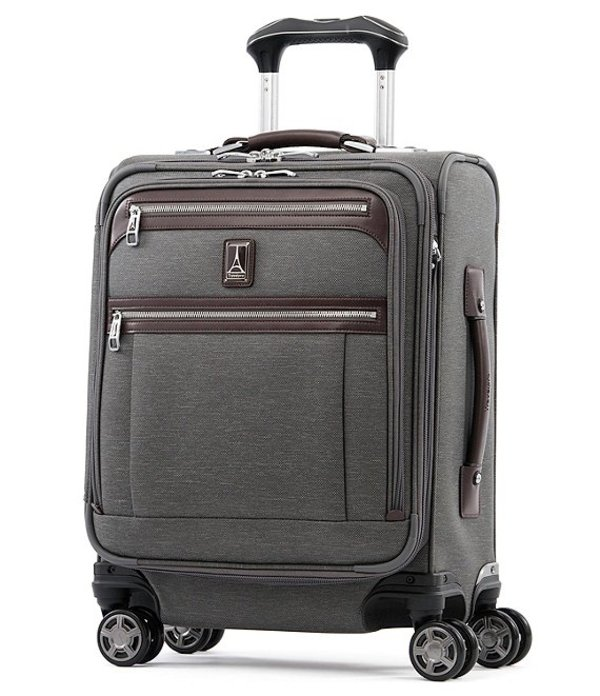 トラベルプロ メンズ スーツケース バッグ TravelPro Platinum Elite International Expandable Carry-On Spinner Vintage Grey