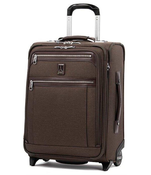 トラベルプロ メンズ スーツケース バッグ TravelPro Platinum Elite International Expandable Carry-On Rollaboard Rich Espresso