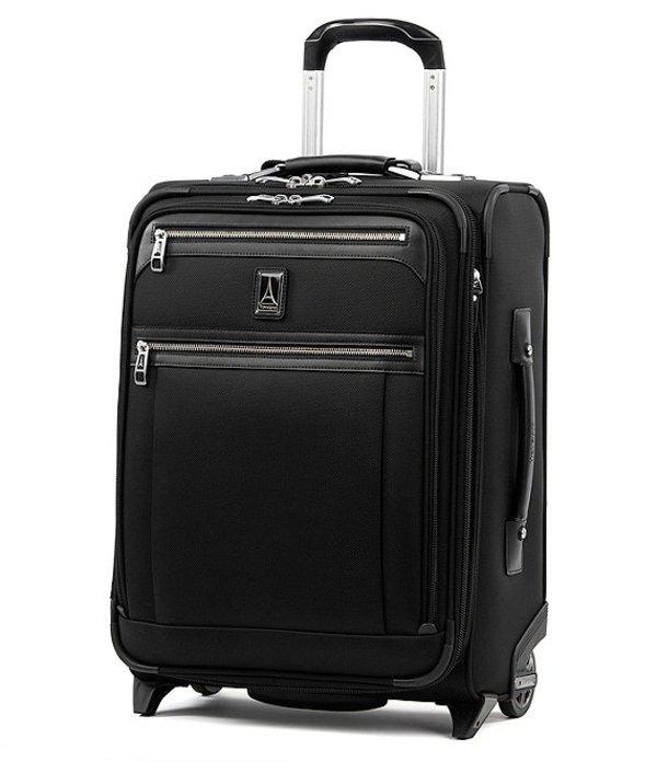 トラベルプロ メンズ スーツケース バッグ TravelPro Platinum Elite International Expandable Carry-On Rollaboard Shadow Black
