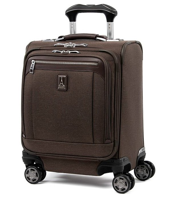 トラベルプロ メンズ スーツケース バッグ TravelPro Platinum Elite Carry-On Spinner Tote Rich Espresso