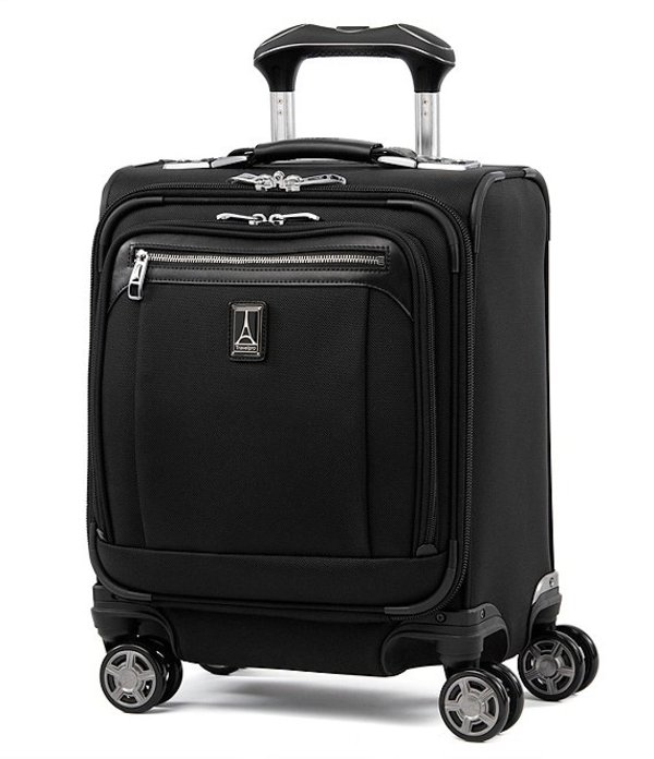 トラベルプロ メンズ スーツケース バッグ TravelPro Platinum Elite Carry-On Spinner Tote Shadow Black