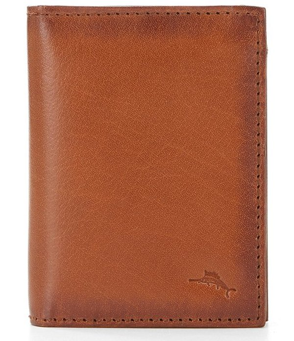 トッミーバハマ メンズ 財布 アクセサリー Burnished L-Fold Leather Wallet Tan