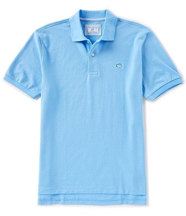 サウザーンタイド メンズ シャツ トップス Skipjack Short-Sleeve Polo Shirt Ocean Channel