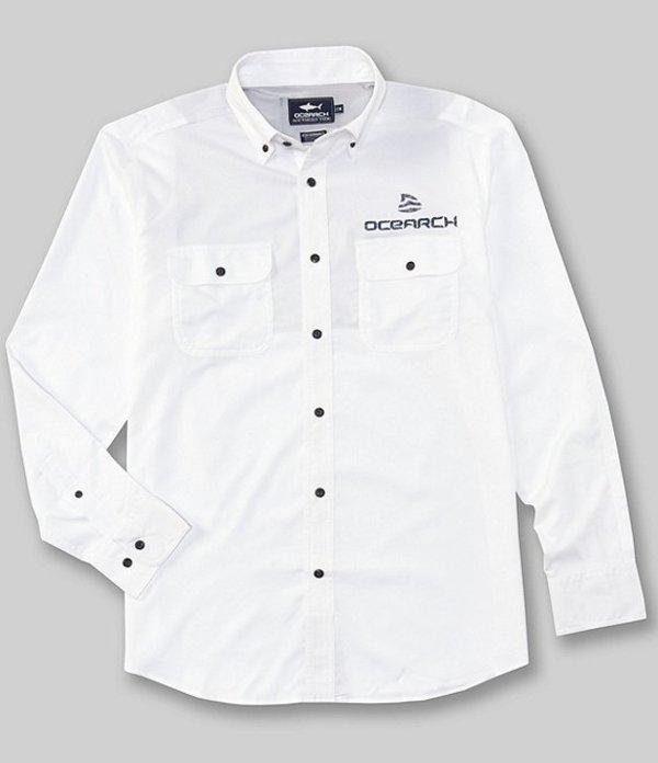 サウザーンタイド メンズ シャツ トップス Ocearch Amagansett Long-Sleeve Workshirt Classic White
