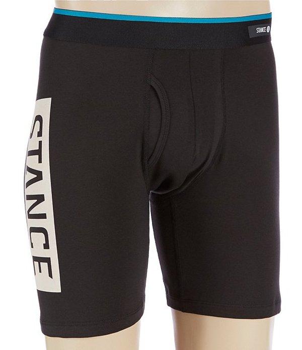 スタンス メンズ ボクサーパンツ アンダーウェア Triple Threat Boxer Briefs Black
