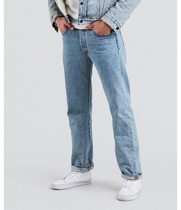 リーバイス メンズ デニムパンツ ボトムス Levi'sR 501R Original Fit Rigid Jeans Light Stonewash