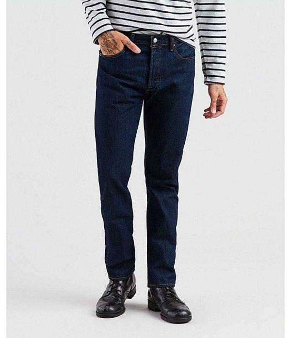 リーバイス メンズ デニムパンツ ボトムス Levi'sR 501R Original Fit Rigid Jeans Rinsed