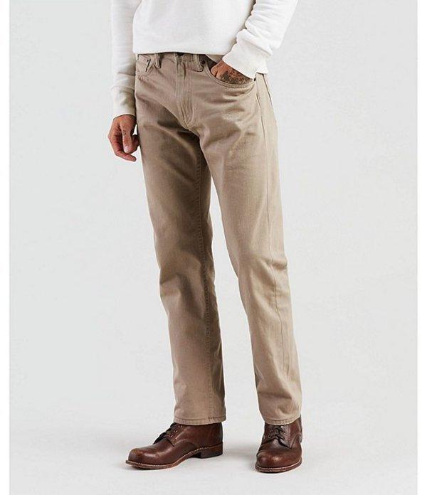 リーバイス メンズ デニムパンツ ボトムス Levi'sR 505 Regular Fit Rigid Jeans Timberwolf