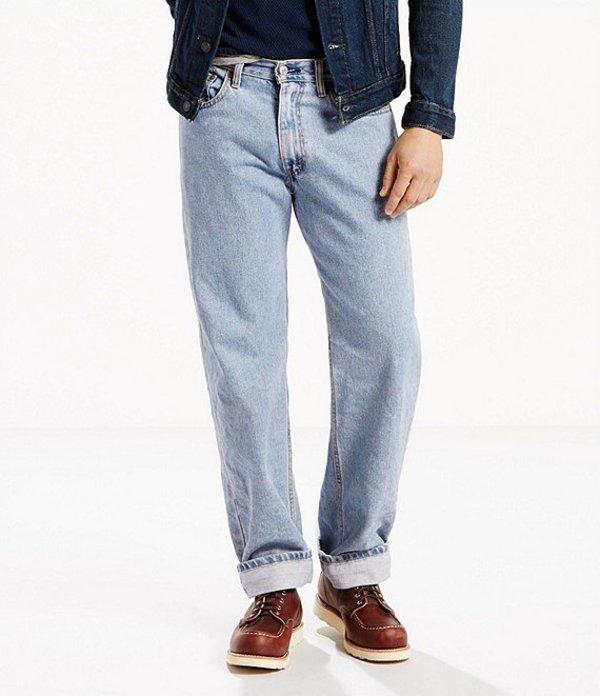 リーバイス メンズ デニムパンツ ボトムス Levi'sR 550? Relaxed-Fit Jeans Light Stonewash