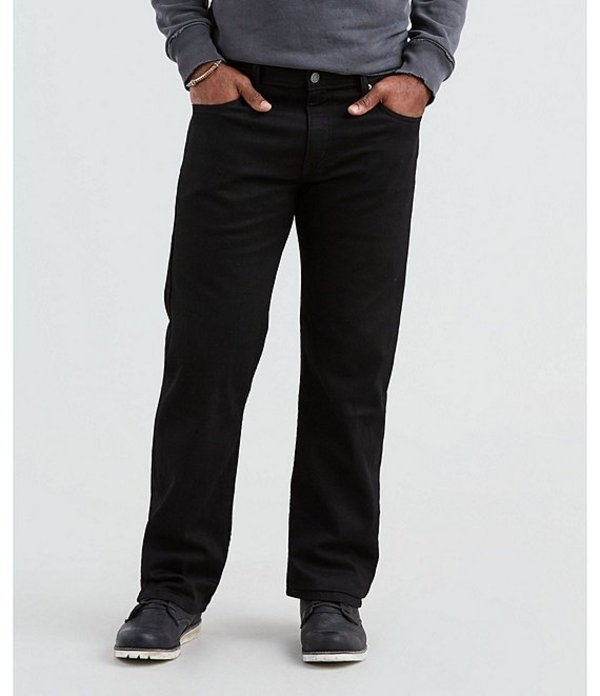 リーバイス メンズ デニムパンツ ボトムス Levi'sR 569? Loose Straight Rigid Jeans Tazer