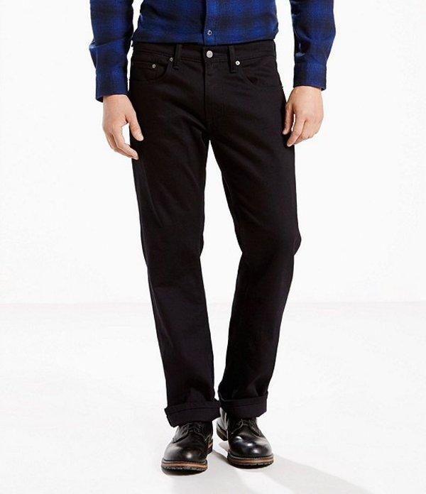リーバイス メンズ デニムパンツ ボトムス Levi'sR 559 Rigid Relaxed Straight Jeans Black TZ
