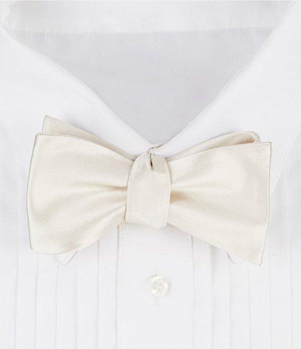 ダニエル クレミュ メンズ ネクタイ アクセサリー Formal Silk Bow Tie Ivory