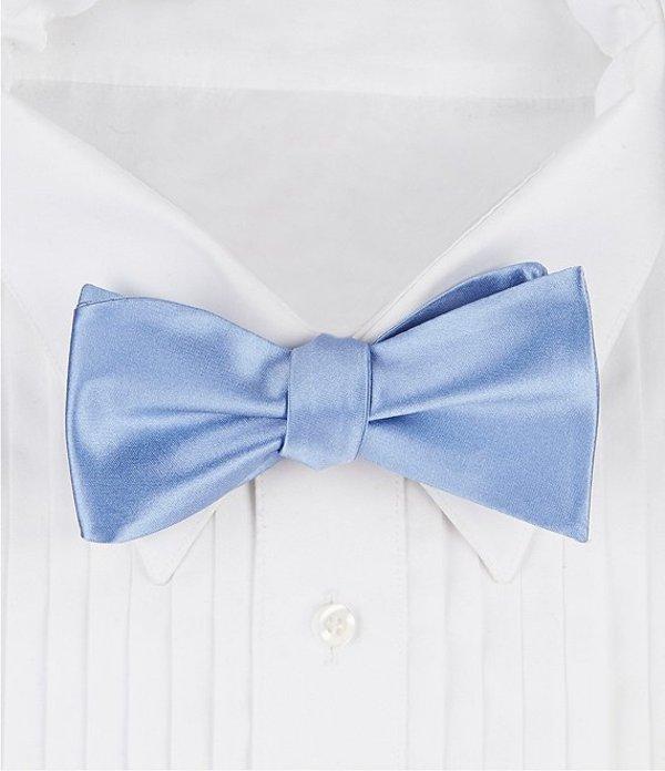 ダニエル クレミュ メンズ ネクタイ アクセサリー Formal Silk Bow Tie Light Blue