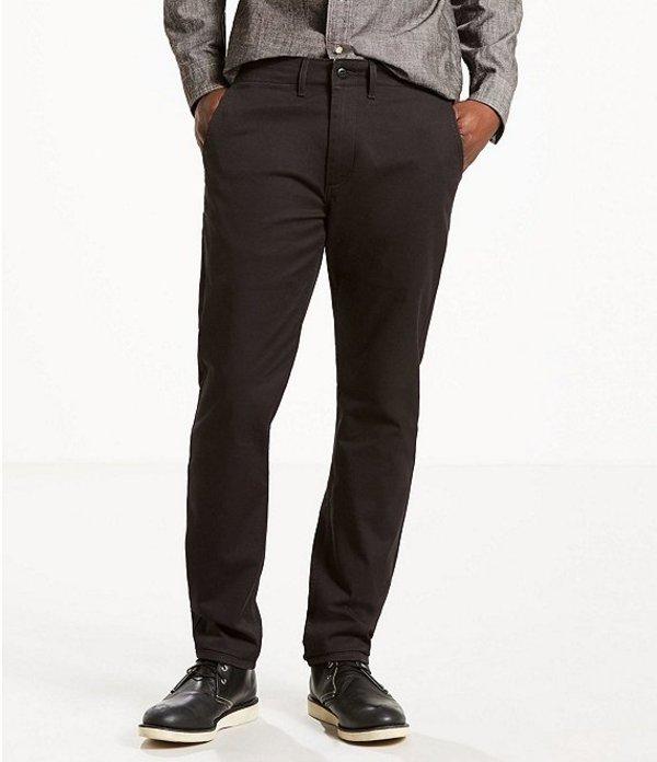 リーバイス メンズ デニムパンツ ボトムス Levi'sR 502 Regular Tapered Fit Stretch Twill Jeans Black