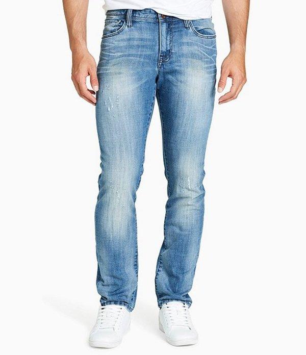 ウィリアム ラスト メンズ デニムパンツ ボトムス Dean Slim-Fit Straight-Leg Stretch Denim Jeans Gold Miner