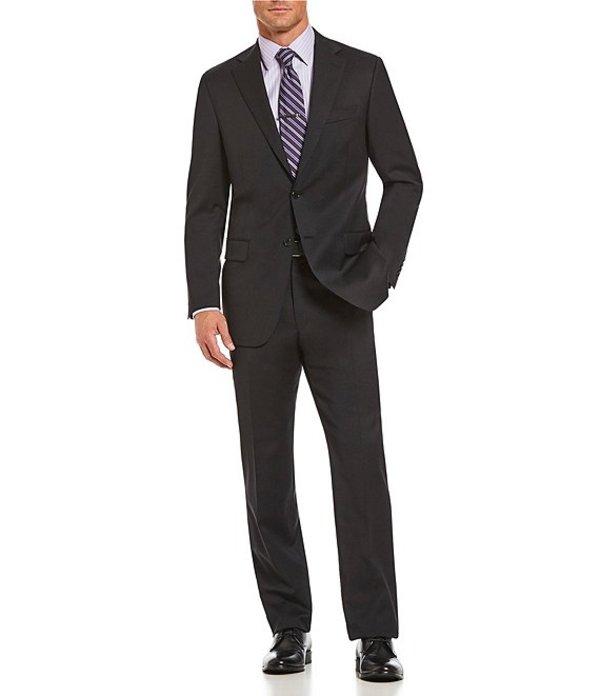 ハート シャフナー マルクス メンズ ジャケット・ブルゾン アウター Classic Fit Solid Wool Suit Black
