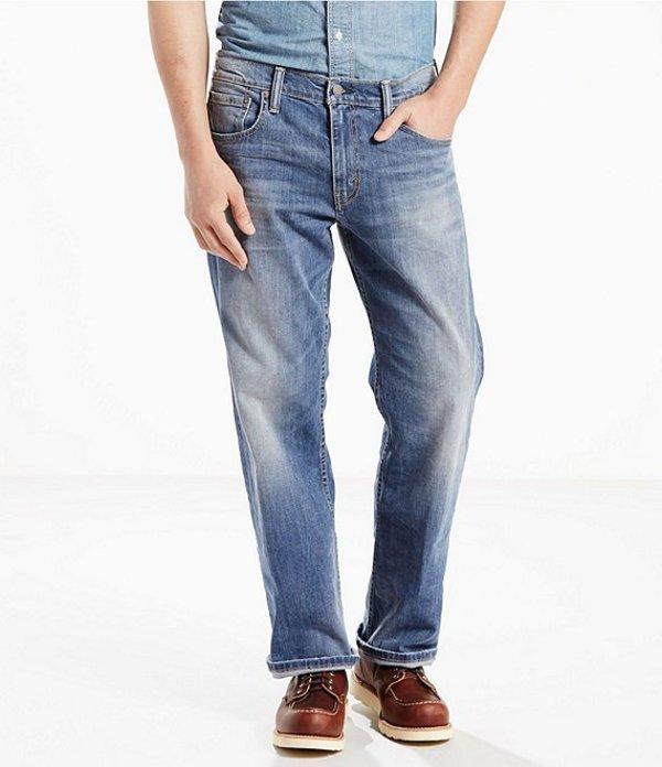 リーバイス メンズ デニムパンツ ボトムス Levi'sR 569 Loose Straight Stretch Jeans Tanager Wash