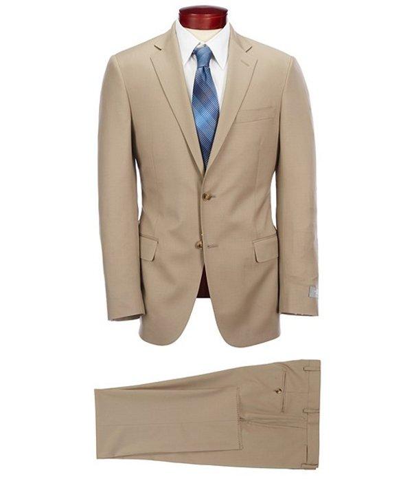 ハート シャフナー マルクス メンズ ジャケット・ブルゾン アウター Modern Fit Solid Wool Suit Tan