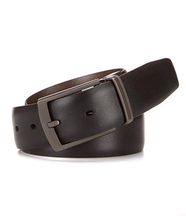 ラウンドトゥリーアンドヨーク メンズ カジュアルパンツ ボトムス Reversible Montana Leather Belt Black
