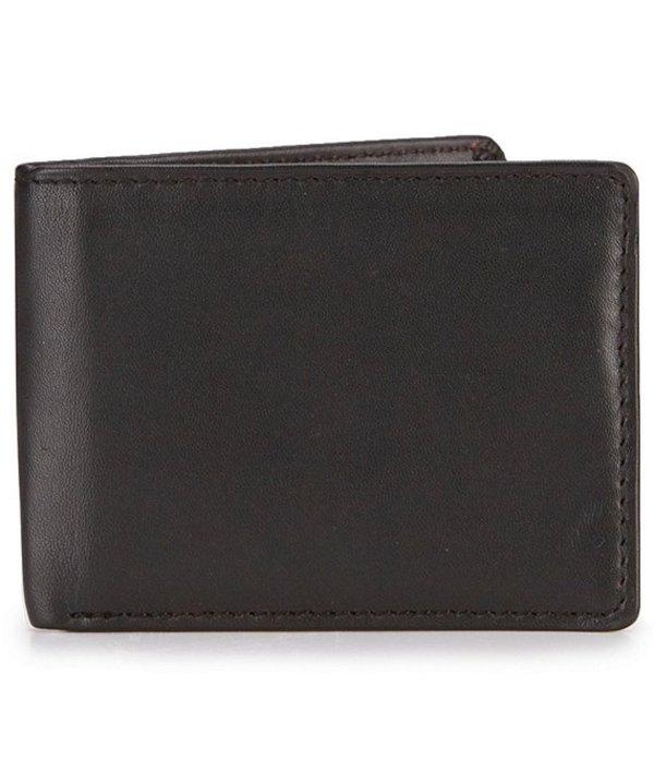 ラウンドトゥリーアンドヨーク メンズ 財布 アクセサリー RFID Passcase with Flip ID Black
