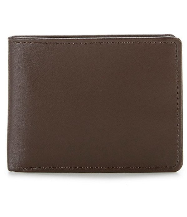ラウンドトゥリーアンドヨーク メンズ 財布 アクセサリー RFID Passcase with Flip ID Brown