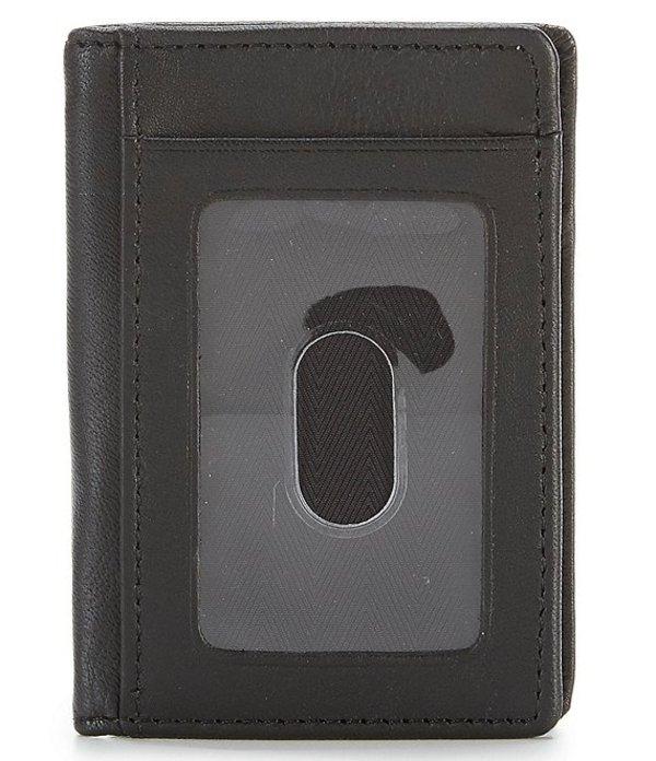ラウンドトゥリーアンドヨーク メンズ 財布 アクセサリー Leather Multi Card Case Black