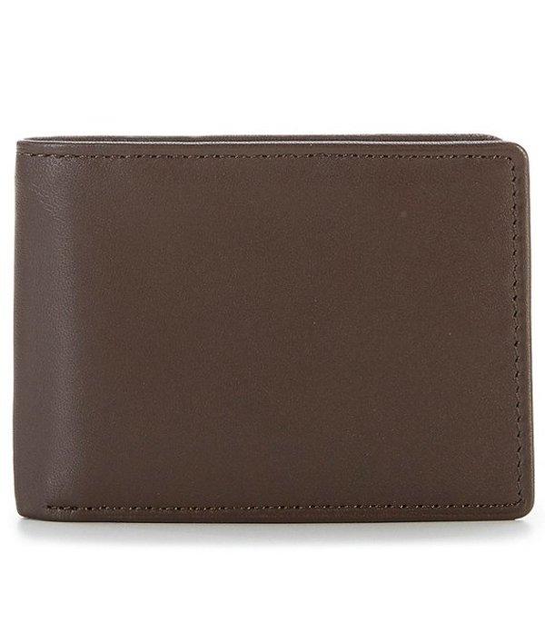 ラウンドトゥリーアンドヨーク メンズ 財布 アクセサリー Slim Fold ID Wallet Brown